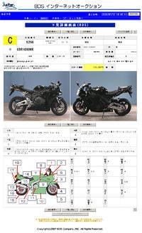 Аукцион мото из Японии