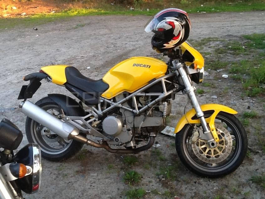 Отзыв: Straga — Ducati Monster 800
