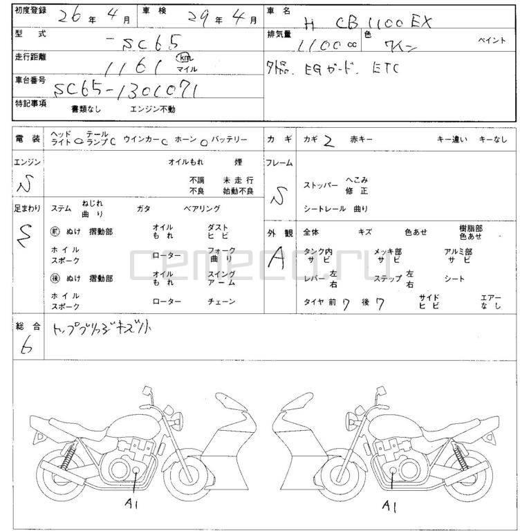 Honda cb1100 ex (6)