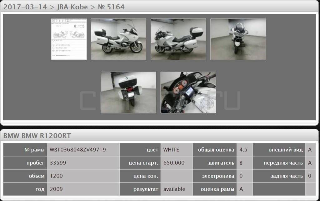 BMW R1200RT (33599км) (6)