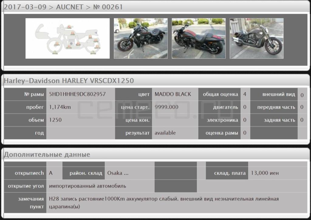 Harley-Davidson Night Rod 2013 (1174км) (4)