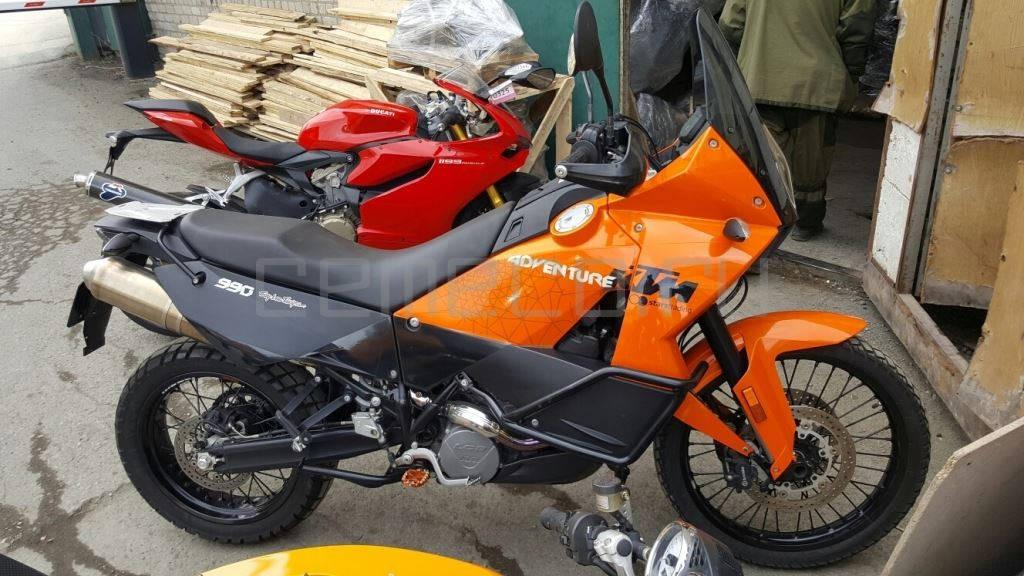 Отзыв: Сергей — KTM 990 Adventure