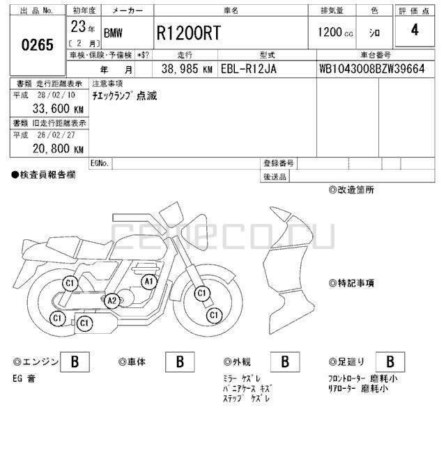 BMW R1200RT 2011 (38985км) (19)