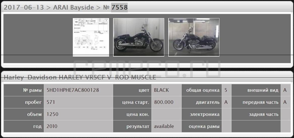 Harley Davidson V-Rod Muscle (571км) (17)