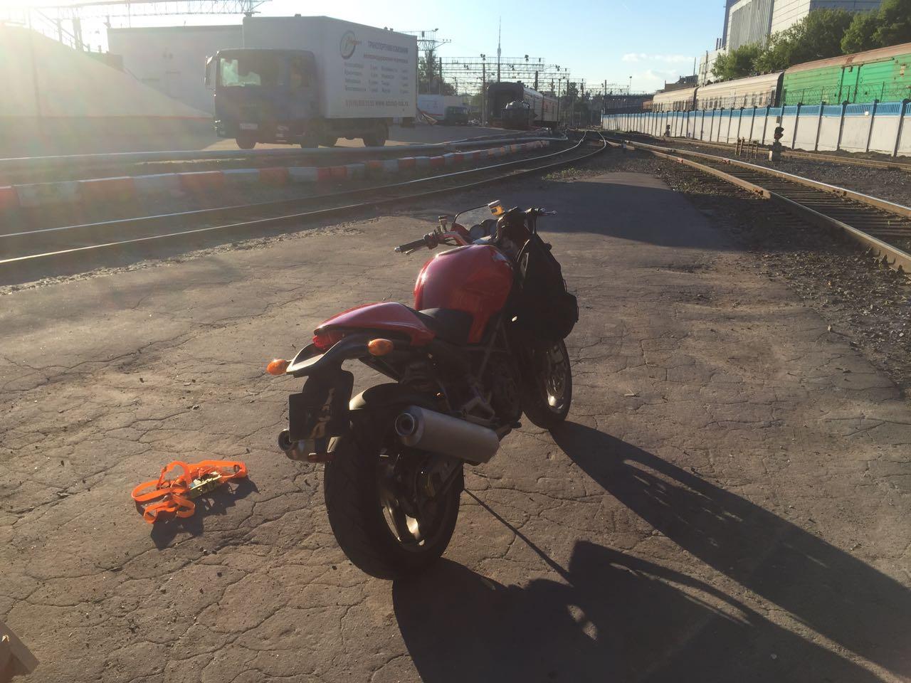 Отзыв: Владислав — Ducati Monster 900S i.e.