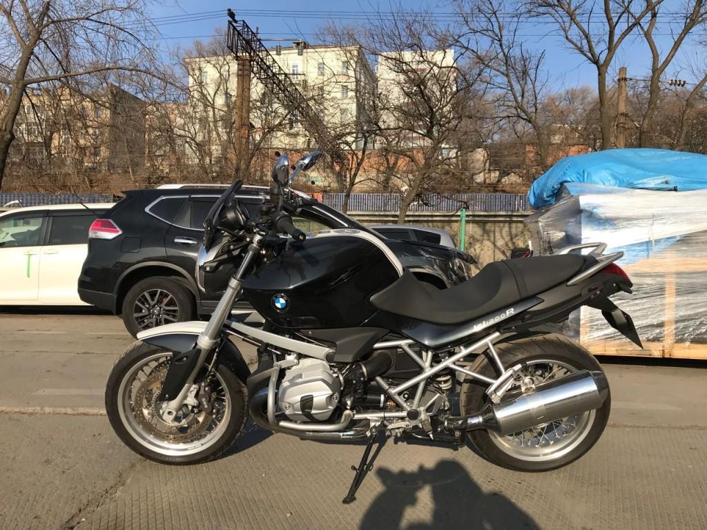 Отзыв: Виктор — BMW R1200R Classic