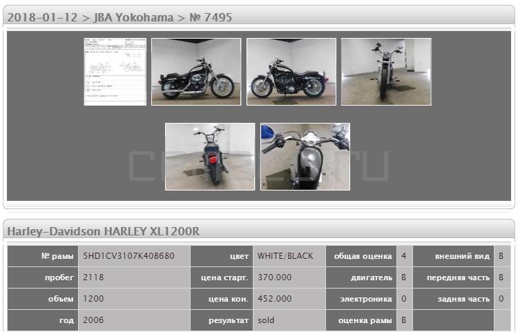 Harley-Davidson HARLEY XL1200R 2118 (5)
