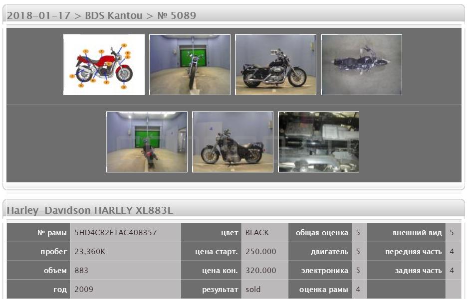 Harley-Davidson HARLEY XL883L 23360 (5)