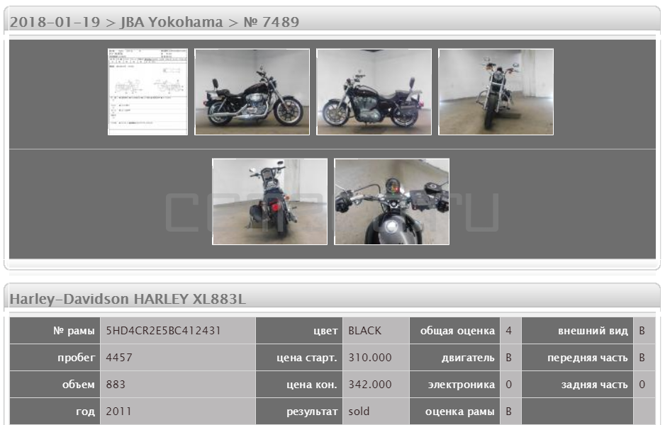 Harley-Davidson HARLEY XL883L 4457 (5)