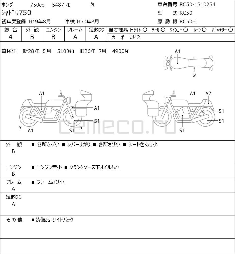 Honda SHADOW750 5487 (1)