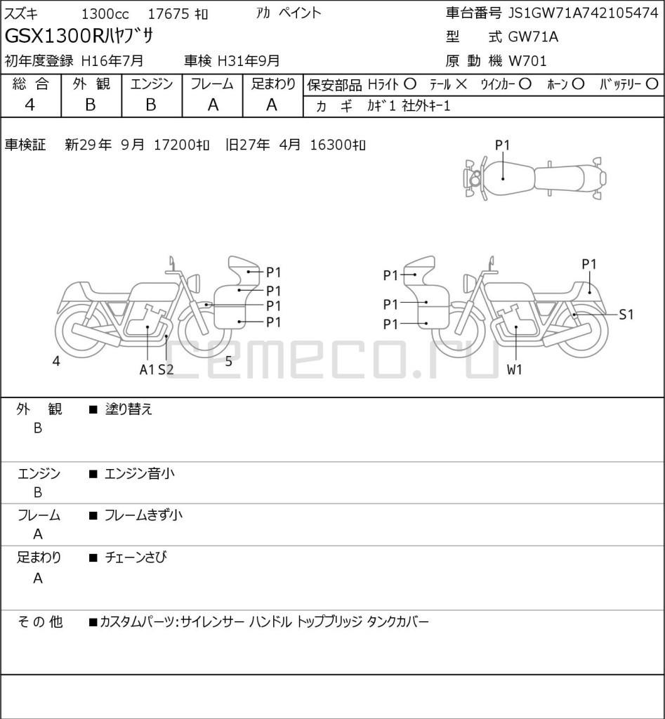 Suzuki GSX1300R HAYABUSA 17675 (1)