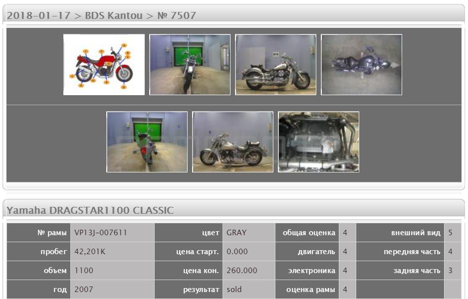Yamaha DRAGSTAR1100 CLASSIC 42201 (5)