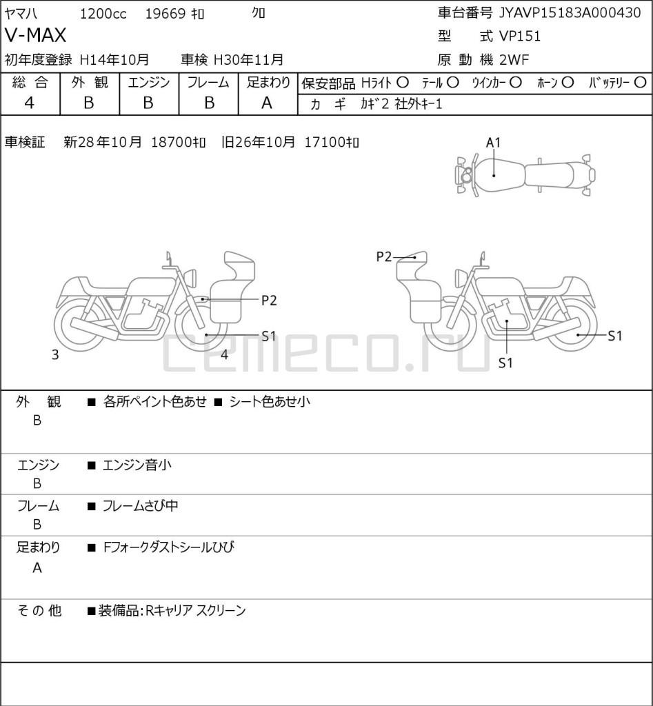 Yamaha V-MAX 19669 (1)