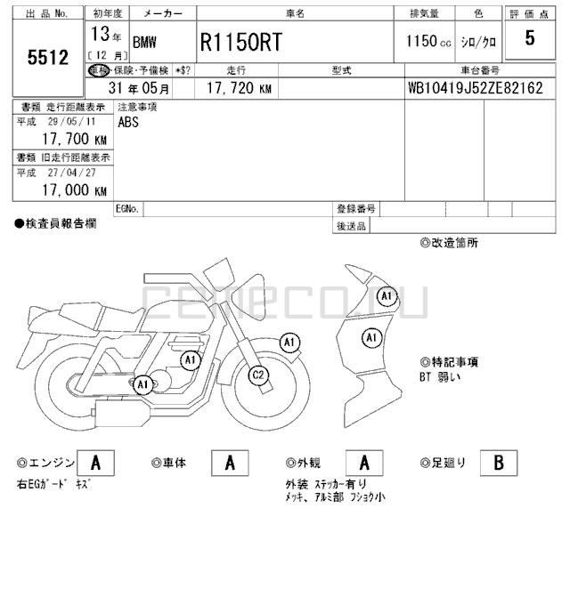 BMW R1150RT (17720км) (20)
