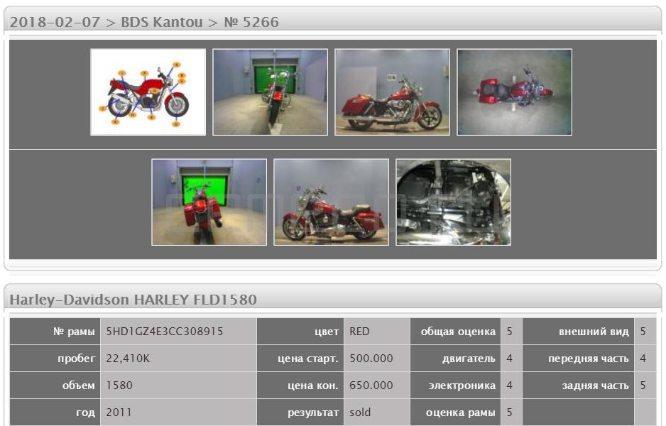 Harley-Davidson HARLEY FLD1580 22410 (5)