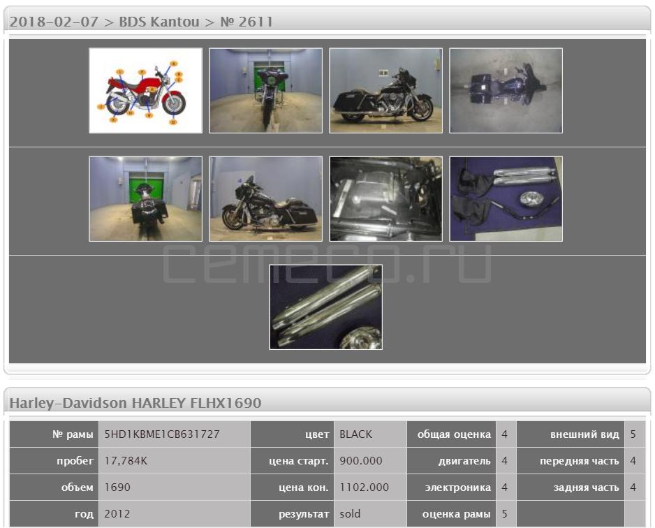 Harley-Davidson HARLEY FLHX1690 17784 (5)