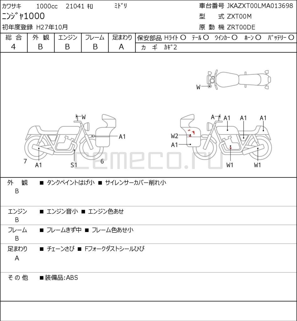 Kawasaki NINJA1000 21041 (1)