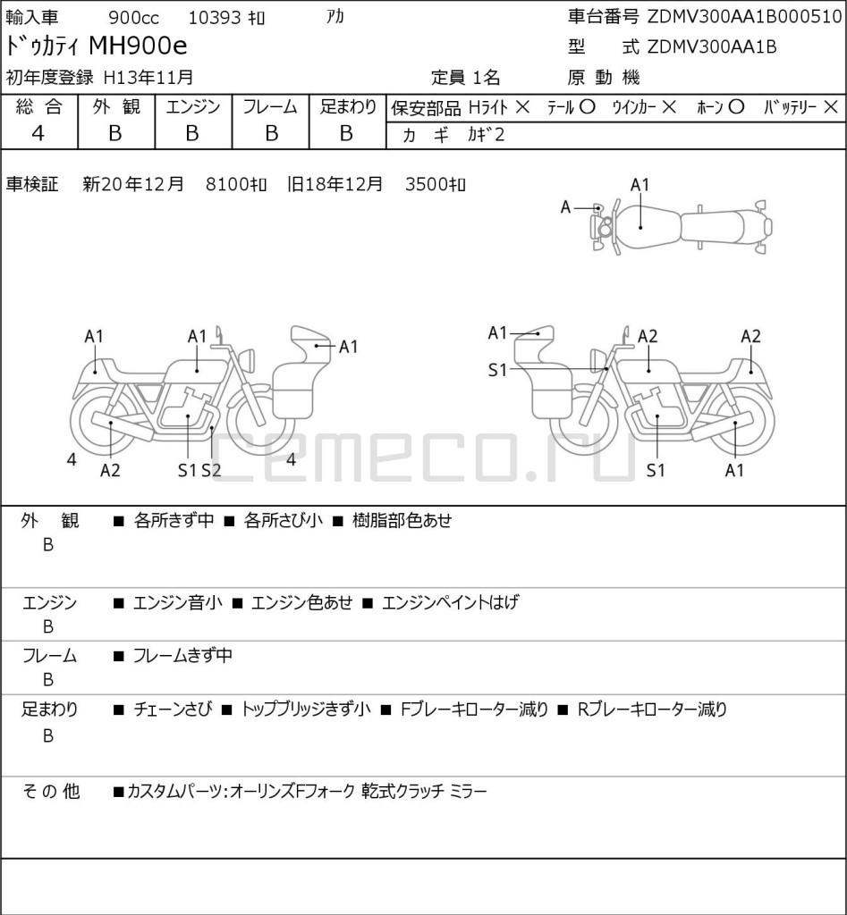 OTHER DUCATI MH900E 10393 (1)