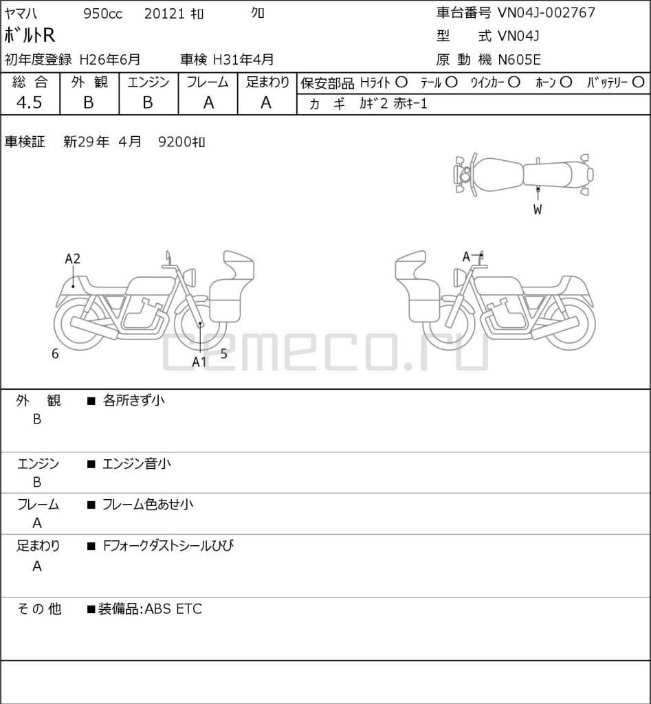 Yamaha BOLTR 20121 (1)