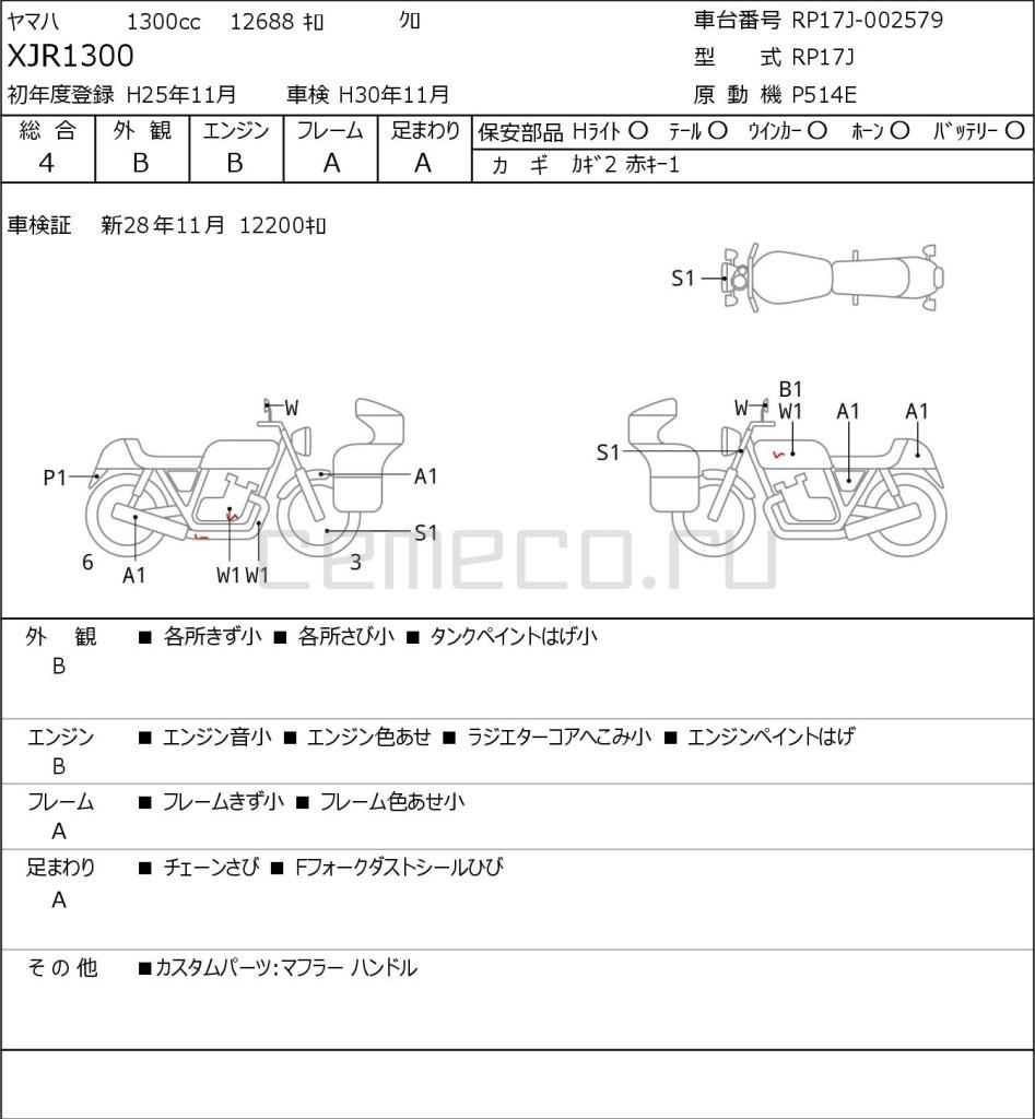 Yamaha XJR1300 12688 (1)