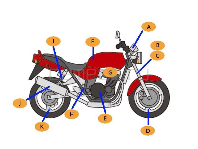 Honda STEED600 49391 (1)