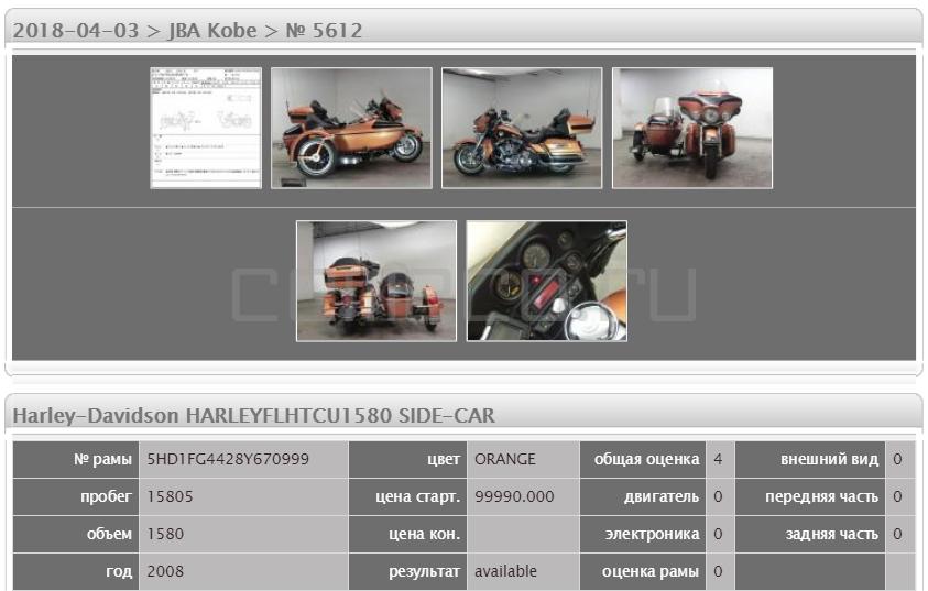 Harley-Davidson HARLEYFLHTCU1580 SIDE-CAR 15805 (5)