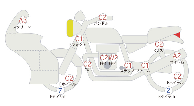 Yamaha FJR 1300 (18962км)